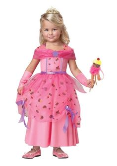 Sweet Fairy Princess Girls Deluxe Costume - The Costume Land