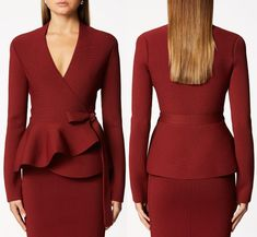 Blazer Outfits For Women, Winter Outfits Women, Winter Fashion Outfits, Office Dresses For Women, Suits For Women, Clothes For Women, Elegant Outfit, Elegant Dresses, Nice Dresses