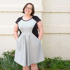 Caitlin's Zadie dress - sewing pattern by Tilly and the Buttons