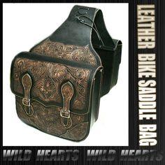 WILD HEARTS | Rakuten Global Market: 100%Handmade Leather Motorcycle Saddle Bags /WILDHEARTS Item ID sb1634