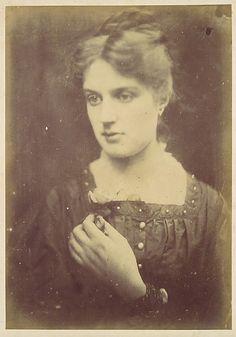 Marie Spartali Stillman by Julia Margaret Cameron, 1868