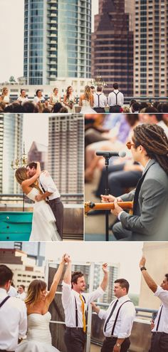 Freaking cutest wedding I've ever seen! AND it's in the happiest place ever! ATX!