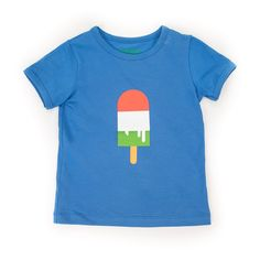Lily-balou zomercollection 2016 t-shirt Louis stong blue