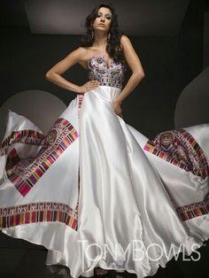 Gorgeous and stylish dress.