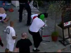 Poland hooligans attack Russian fans EURO 2012