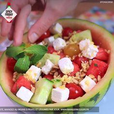 Easy Healthy Recipes, Diet Recipes, Vegetarian Recipes, Easy Meals, Feta, Salad Sauce, Health Dinner, Gluten Free Dinner, Comfort Food