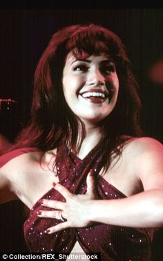 Praising her work: The award show's co-host Pedro Fernandez called Jennifer's portrayal of Selena in the 1997 biopic a 'magical interpretation' and said it 'has made a definite mark on her artistic life'