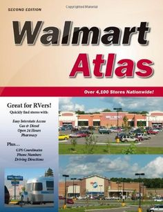Walmart Atlas, 2nd Edition by Roundabout Publications. $24.95