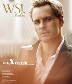 Michael Fassbender for Wall Street Journal magazine June 2011