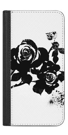 Casetify iPhone 7 Wallet Case - Black Rose by Li Zamperini Art #Casetify