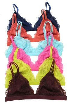 Candy Lace Bralette (more colors)