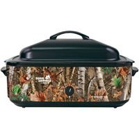 Show details for Open Country By Nesco Portable 18quart Woodland Birch Roaster Oven