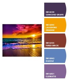 Instantly turn any picture into a palette with ColorSnap, created for you by Sherwin-Williams. Colour Pallette, Colour Schemes, Color Trends, Color Combos, Color Patterns, Room Colors, Paint Colors, Beautiful Color Combinations, Color Studies