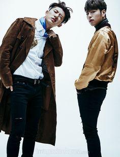 iKON B.I & Junhoe - Harper's Bazaar Magazine February Issue '16