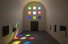 The late artist selected 33 stained glass windows for his final work, a sanctuary of color and light in Austin.