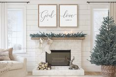 God is love sign,Christian wall art,Bible verse wall art,Printable Bible verse wall art,PrintableBible quotes,1 John 4 8, by PrintableLoveStory on Etsy Merry Christmas Sign, Christmas Wall Art, Christmas Posters, White Christmas, Reindeer And Sleigh, Bible Verse Wall Art, Thing 1, Family Wall, Home Signs