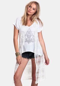 Goddess Lace Vest at #threadsence @ThreadSence