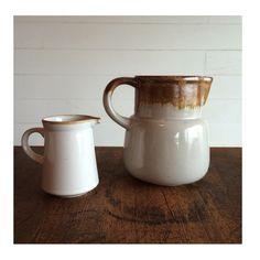 Etsy の Vintage Ceramic Pitcher by MidCenturyTeak