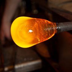 Beginning glass blowing