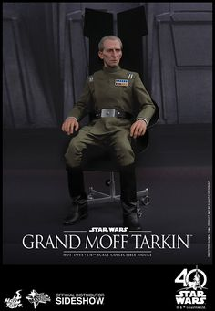 Star Wars Grand Moff Tarkin Sixth Scale Figure by Hot Toys | Sideshow Collectibles
