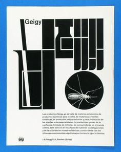 Geigy  Design: Karl Gerstner repinned by Awake — http://designedbyawake.com