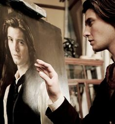 """In Oscar Wilde's """"A Picture of Dorian Gray,"""" Dorian Gray himself represents Narcissus. Both characters are prideful and self-absorbed. Wilde's story takes a similar turn as both conceited characters meet a tragic end."""