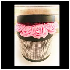 Valentines Flowers in a Hat box, Artificial everlasting Roses in a Hat Box, Wedding Flowers by TheGiftPage on Etsy Valentines Flowers, New Mums, Christening, Wedding Gifts, Wedding Flowers, Birthdays, Roses, Anniversary, Hats