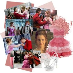 """Yule Ball Hermione"" by jtheangel on Polyvore"