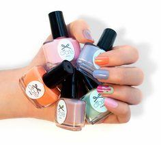 Nail Inspiration: #Ciaté Ice Cream Collection #Sephora #nails #sephoranailspotting