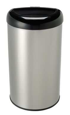 13.2 Gallon Motion Stainless Steel Trash Can