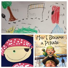 How I Became a Pirate--Apples and ABC's: Adventures in Kindergarten: Pirate Theme