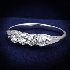 A Perfect 2.2TCW Round Cut Lab Diamond Wedding Band Ring