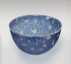 Bowl, Venezia-Murano Company (Italian), ca. 1870, Venice (Murano), Gift of James Jackson Jarves, 1881