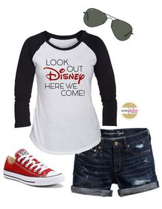 """Family Disney Shirts """"Look Out Disney Here We Come"""" (Baby-Adult)"""