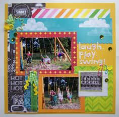 Laugh Play Swing! Layout by average_kim