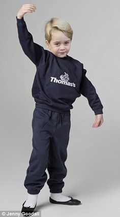 Ballet kit - Two sports sweatshirts: Two pairs jogging bottoms: Four pairs of white sports socks: Ballet shoes: Baby Prince, Royal Prince, Prince And Princess, Prince Harry, English Royal Family, British Royal Families, Prince William And Catherine, Prince William And Kate, Princesa Diana