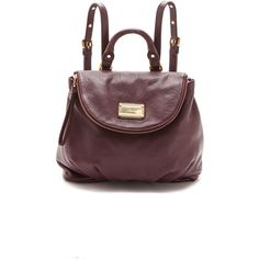 Marc by Marc Jacobs Classic Q Mariska Backpack - Polyvore