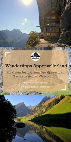 The Berggasthaus Äscher: A overrun gem in the Appenzellerland - One of the top hikes in Appenzellerland: the Gasthaus Äscher. The nearby Seealpsee is also worth a - Places In Switzerland, Hiking Europe, Reisen In Europa, Hidden Places, Outdoor Travel, Hiking Outdoor, Need A Vacation, Italy Travel, Adventure Travel