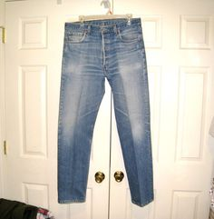 Levi's 501XX Vintage Button Fly Jeans / Well by CookieGrandma60, $75.00