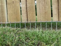 A solution to fence that is raised or that a dog digs around.  I can do this for a lot less than they are charging