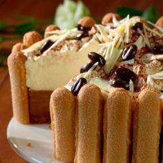 Ír kávétorta Recept képpel - Mindmegette.hu - Receptek Cookie Recipes, Dessert Recipes, Cold Desserts, Hungarian Recipes, Sweet And Salty, Homemade Cakes, Creative Cakes, Cakes And More, Sweet Recipes