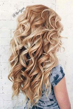 Easy Hairstyles 33 Wedding Hairstyles With Hair Down wedding hairstyles down perfect curls on long blonde hair Hairstyles 33 Wedding Hairstyles With Hair Down wedding hairstyles down perfect curls on long blonde hair Haircuts For Long Hair, Wedding Hairstyles For Long Hair, Down Hairstyles, Pretty Hairstyles, Hairstyle Ideas, Hair Wedding, Hairstyles 2018, Hairstyles Haircuts, Latest Hairstyles