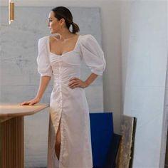 Sandra Cárcel Sandro, Cold Shoulder Dress, White Dress, Pan Integral, Instagram, Collection, Dresses, Fashion, Patterned Dress