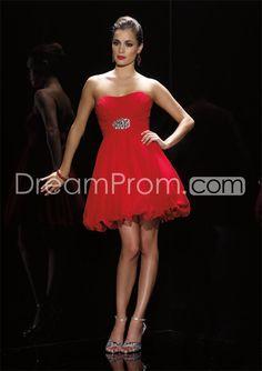 Gorgeous A-Line Mini-Length Backless Cocktail/Evening Dresses - cdreamprom.com