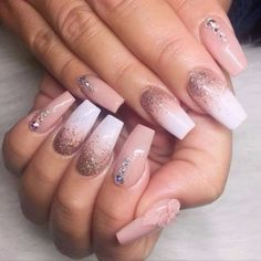 65+Beautiful Matte Glitters Nail Art Ideas