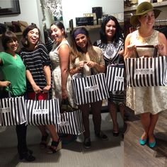 Lovely private bachelorette shopping party held at Noe Ambi! Contact JulieRhodes@ambiancesf.com to book your free of charge private party.