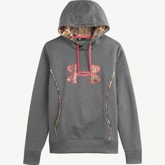 #New Women's Camo Under Armour Carbon Storm Hoodie in #Realtreecamo
