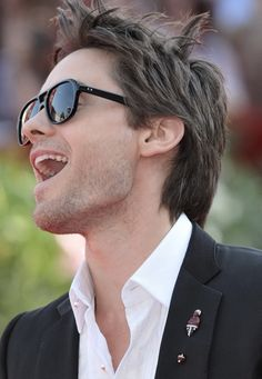 Jared Leto. Like him with short hair or long; blonde hair or brown.... :)