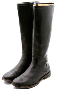 Cole Haan Country womens boots size 7.5 black leather zip up riding tall fashion #ColeHaan #equestrian #cowgirl #boots @ebay