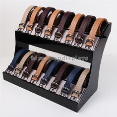 Cubierta personalizada Promocional Encimera Stand Alone 2-capa Hombres Leanther Cinturón Pantalla de Acrílico-imagen-Estantes de Expositor-Identificación del producto:60483381219-spanish.alibaba.com